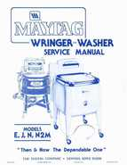 Maytag Wringer washer service manual
